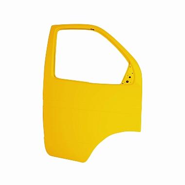 Боковая дверь Газель правая (желтая) пластиковая