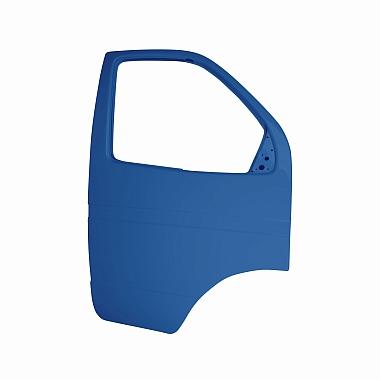 Боковая дверь Газель правая (синяя Балтика) пластиковая
