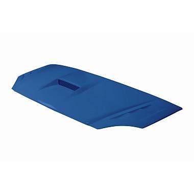 """Капот Газель 3302 пластик (нового образца) """"Субару"""" (синий Балтика) с воздухозаборником"""