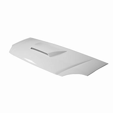 """Капот Газель 3302 пластик (нового образца) """"Стелс-2"""" с воздухозаборником (белый)"""