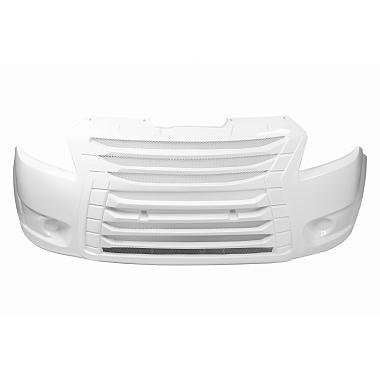 Бампер передний Некст тюнинг (белый)