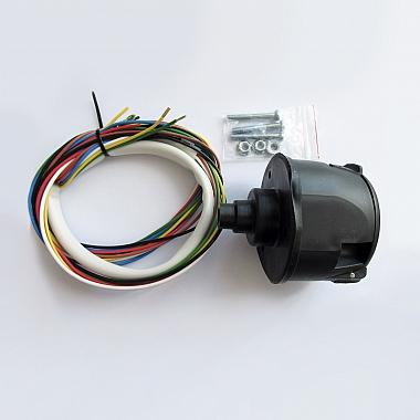 Комплект электрики для фаркопа на Газель Некст универсальный (розетка, электропроводка) 1,5м