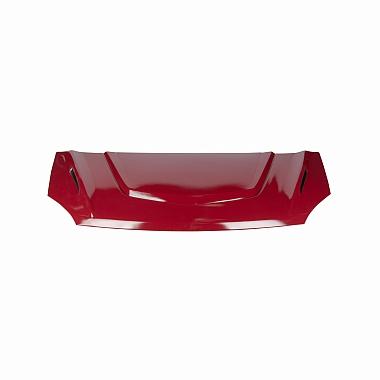 Капот Газель Некст пластиковый в цвет (красный Чили)