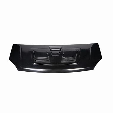 Капот Газель Некст пластиковый с воздухосборником (черный) под покраску