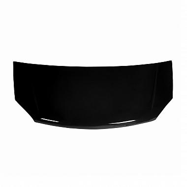 Капот Газель Некст, окрашенный черный (пластик)