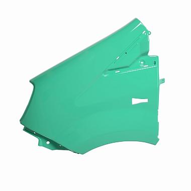 Крыло переднее левое пластмассовое окрашенное зеленое (Кипр) Газель Некст