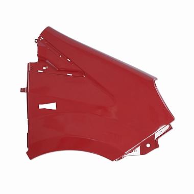 Крыло переднее правое пластмассовое окрашенное красное (Чили) Газель Некст