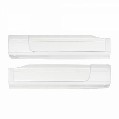 Накладки на Газель Некст (белые) оригинальный комплект молдингов на пороги и двери