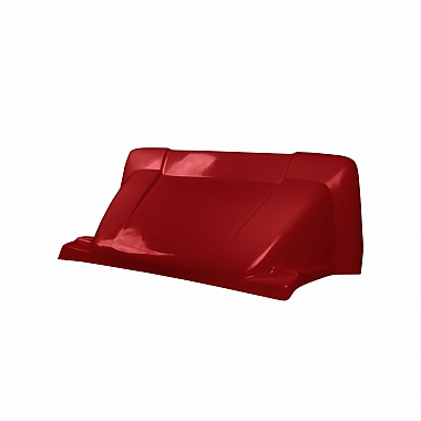 Спойлер на Газель Некст 2.0 (красный Чили)
