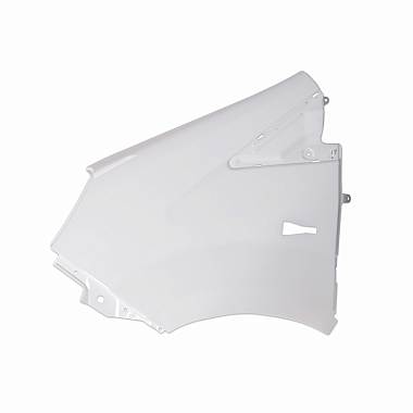 Крыло переднее левое пластмассовое окрашенное белое Газель Некст