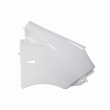 Крыло переднее правое пластмассовое окрашенное белое Газель Некст