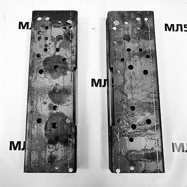 Усилитель рамы Газель Некст под переднюю серьгу задней рессоры, комплект