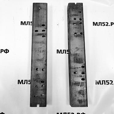 Усилитель рамы Газель Некст под крепление заднего амортизатора, комплект