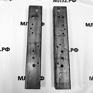 Усилитель рамы Газель Некст под крепление переднего амортизатора, комплект